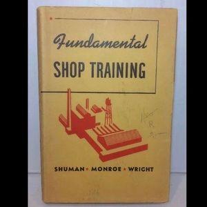 1943 Fundamental Shop Training Hardcover Book